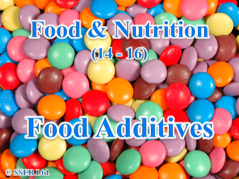 3.3 Food Additives