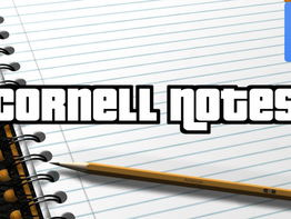 Cornell Notes (Editable in Google Docs)