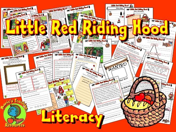 Little Red Riding Hood – Worksheets KS1
