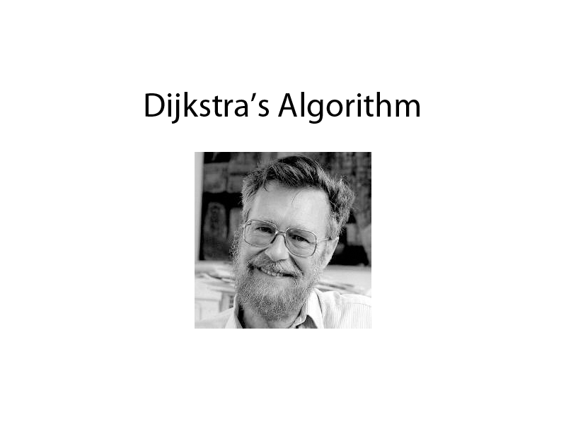 Dijkstra's Algorithm Presentation & worsksheet