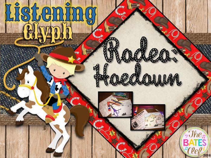 Aaron Copland - Rodeo:  Hoedown Listening Glyph