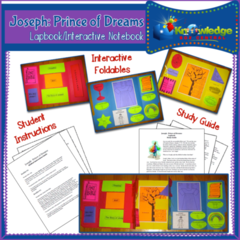 Joseph, Prince of Dreams Lapbook