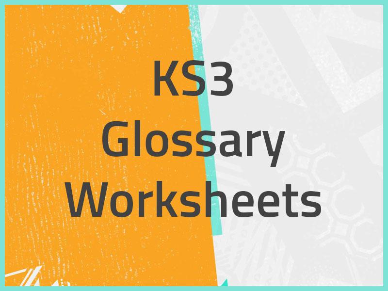 KS3 Glossary of Keywords