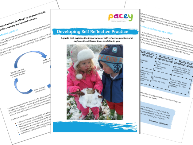 Developing self reflective practice ¦ Early years practice guide