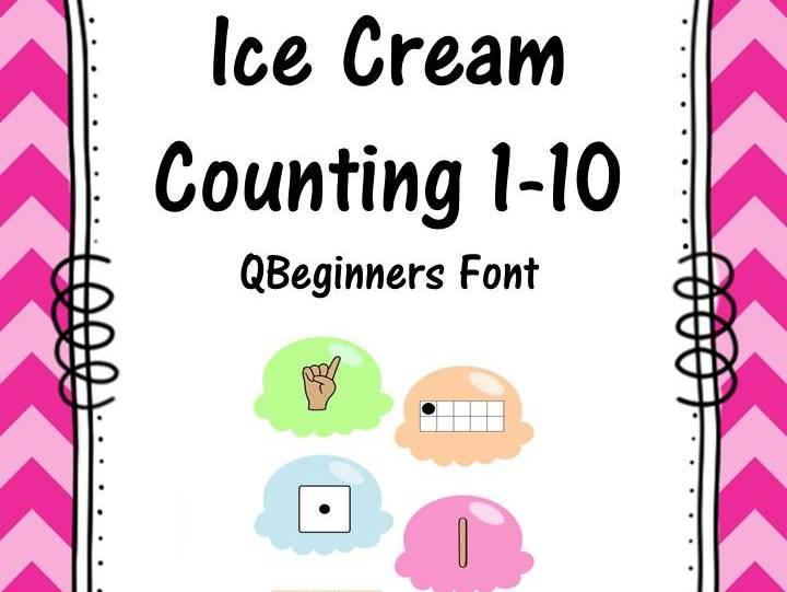 Ice Cream Matching 1-10 QBeginners