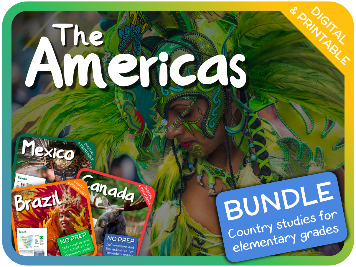 Bundle: Country Studies for Elementary Grades - The Americas