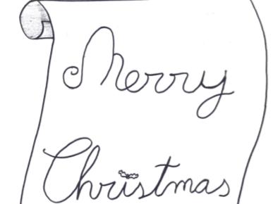 Christmas Card-Book activity