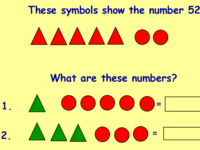 Year 2 maths reasoning starters