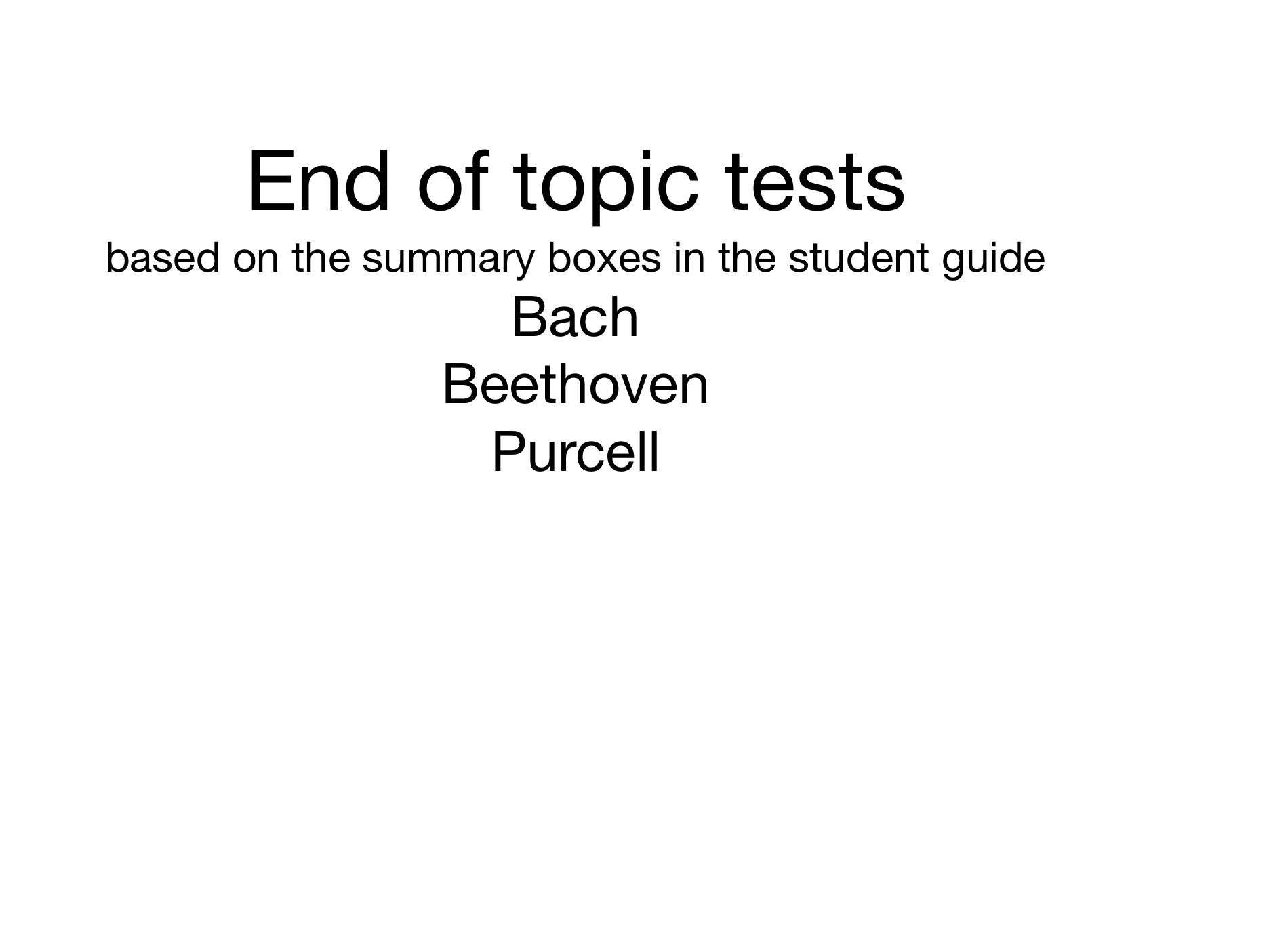 MUSIC EDEXCEL GCSE (9-1) BUNDLE OF TESTS