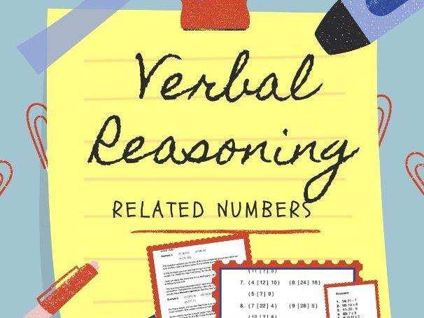 11+ Verbal Reasoning - Related Numbers