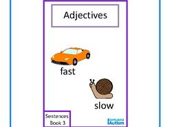 Finish The Sentences Interactive Book- Adjectives, Autism, Special Education, SEND
