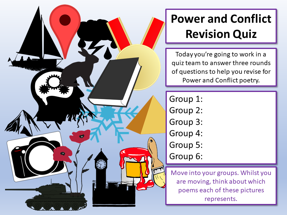 Power and Conflict Quiz