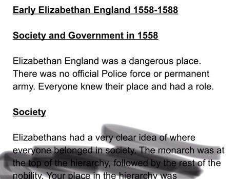 Edexcel History 9-1 Elizabethan England