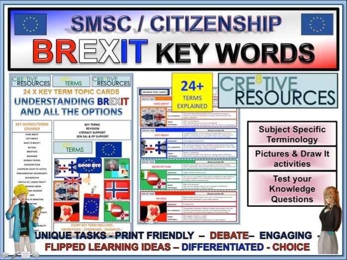 Soft Brexit Hard Brexit No Deal Brexit Explained