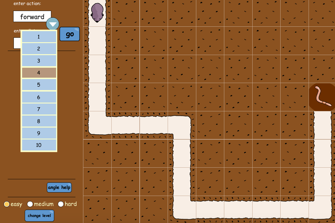 Mole Maze Interactive Activity - KS1/KS2 Geometry