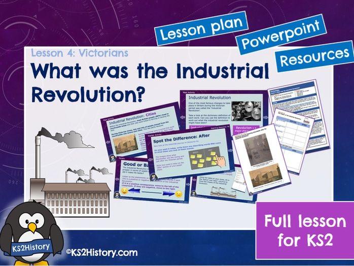 Industrial Revolution (Lesson for KS2)