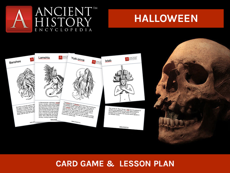 Halloween - Gruesome Creatures, Gods and Goddesses in Ancient Times