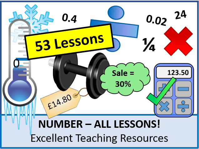 Number: ALL Lessons (53 Lessons) +ALL Resources