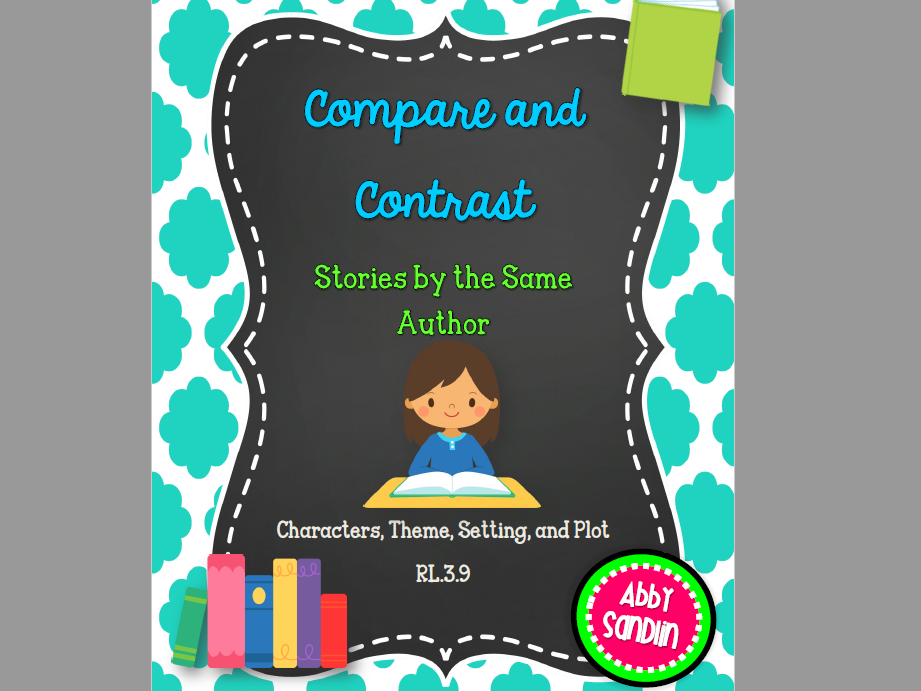 Compare and Contrast Stories by the Same Author Journal Pages