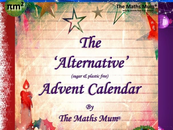 'Alternative' Advent Calendar Lower KS2 Maths