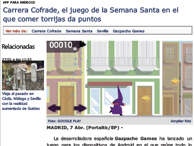 Semana Santa Videogame Authentic Text Activity