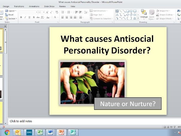 What is Antisocial Personality Disorder and what causes it? GCSE PSYCHOLOGY/AQA