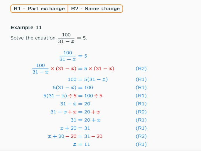 One Variable Equation / Linear Equation Lesson Ppt
