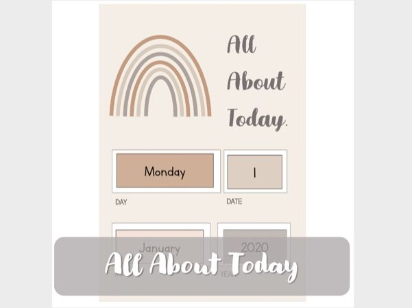 All About Today Poster