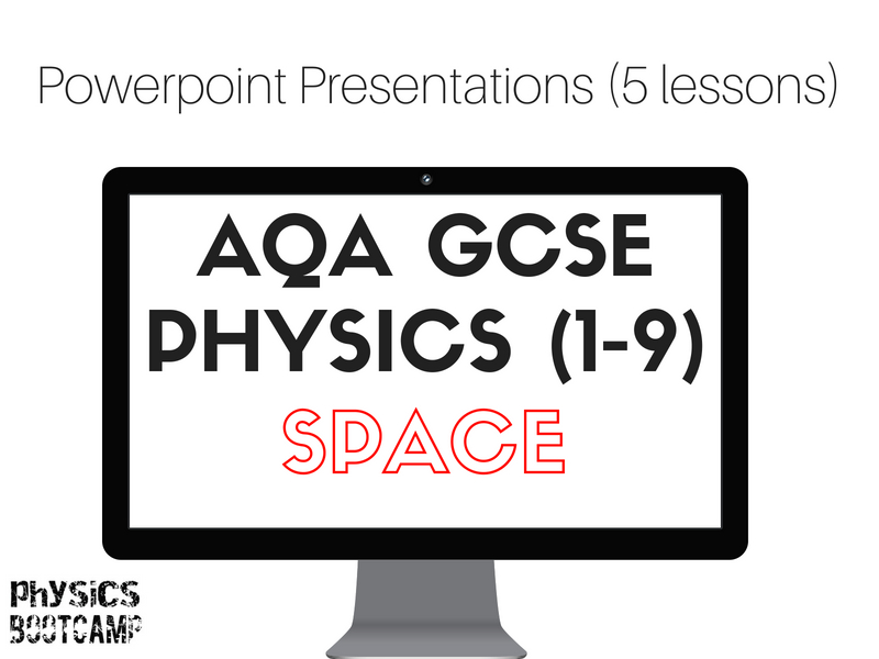 AQA GCSE Physics (1-9) SPACE 5 worksheets