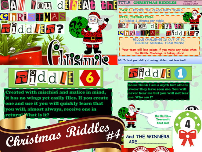 Christmas Riddle Bundle Ridiculous Value #2