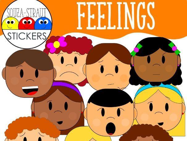 Feelings Clip Arts