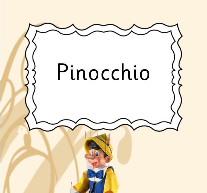 Pinocchio: Playscript for Drama shows and school productions