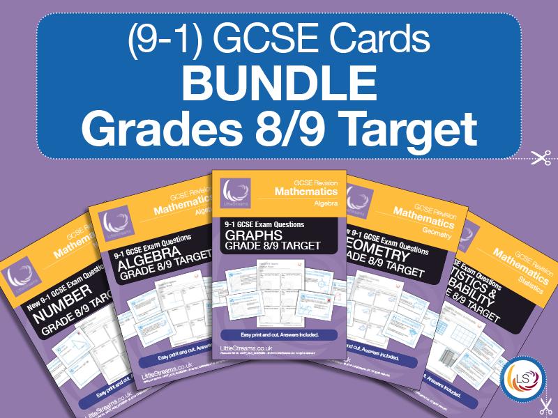 New GCSE Grade 8/9 target