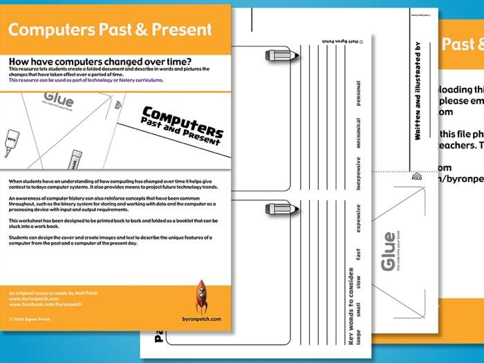 Computers Past & Present worksheet