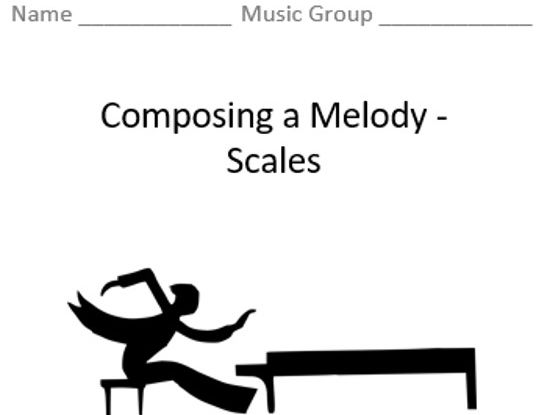 KS3 Composing a Melody (Scales) - Topic Booklet