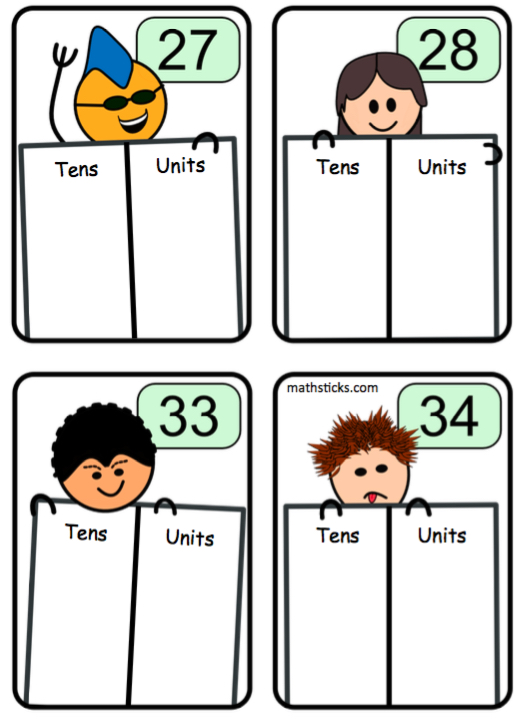 place value two digit numbers