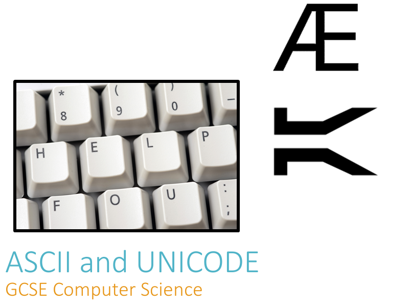 ASCII and UNICODE - Teacher Presentation