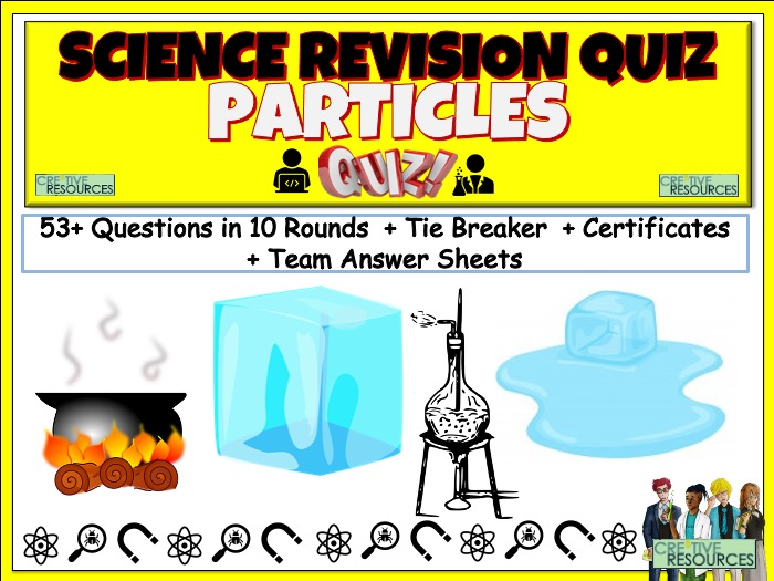Particles Science Quiz