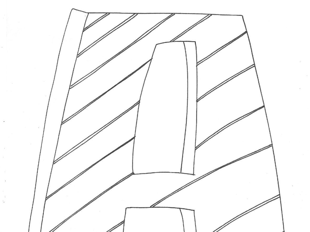 Letters A-R : Alphabet: CAPITAL LETTERS: Colouring Page By