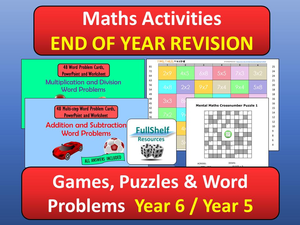 Maths Year 6 BUNDLE