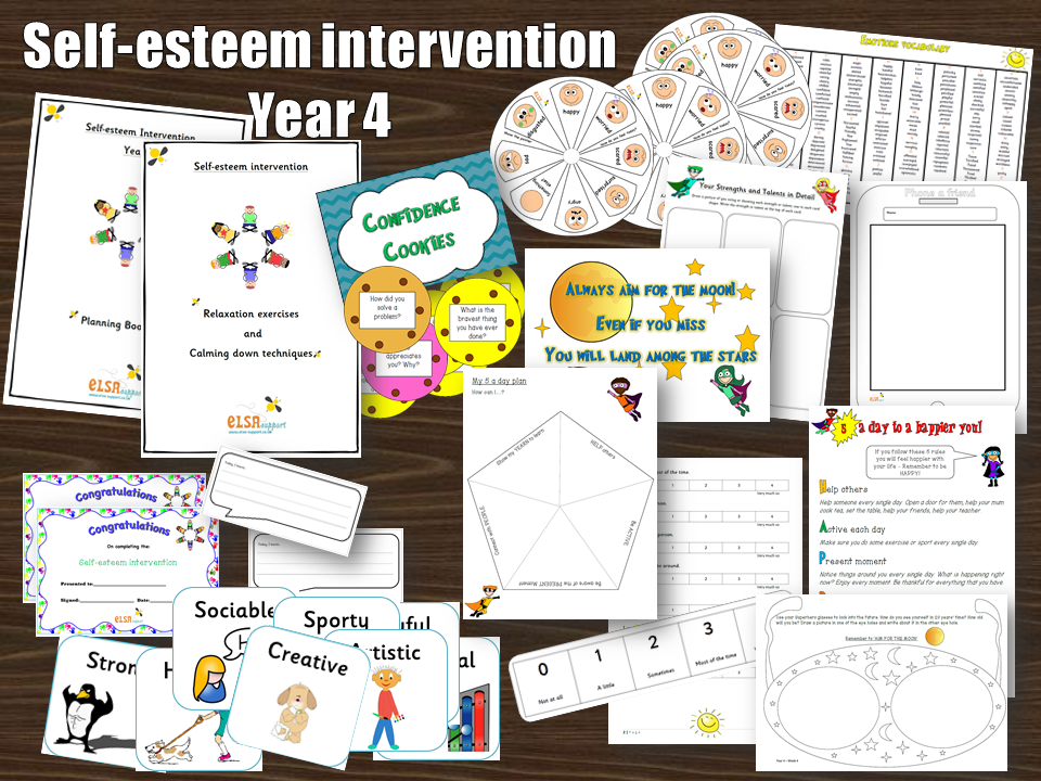 Self-esteem Year 4 intervention