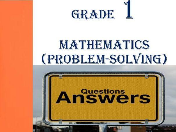Grade 1 MATHEMATICS QUESTIONS & ANSWERS 4