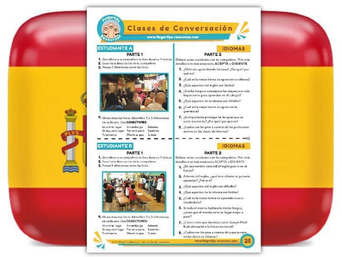 Idiomas - Spanish Speaking Activity