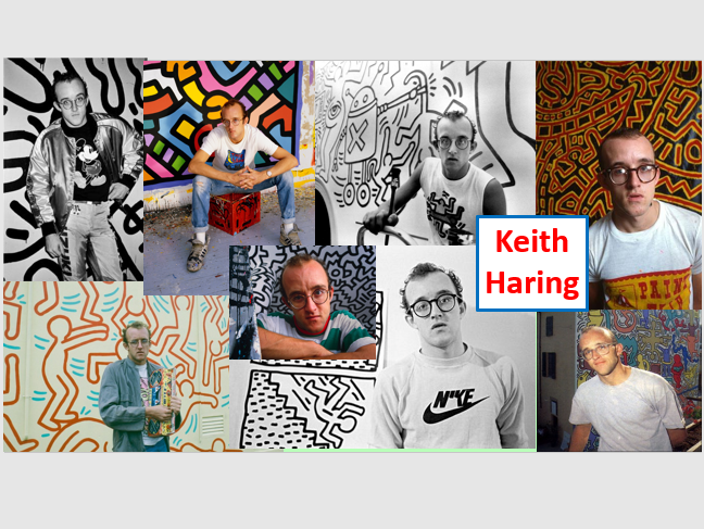 Keith Haring and figure proportions project