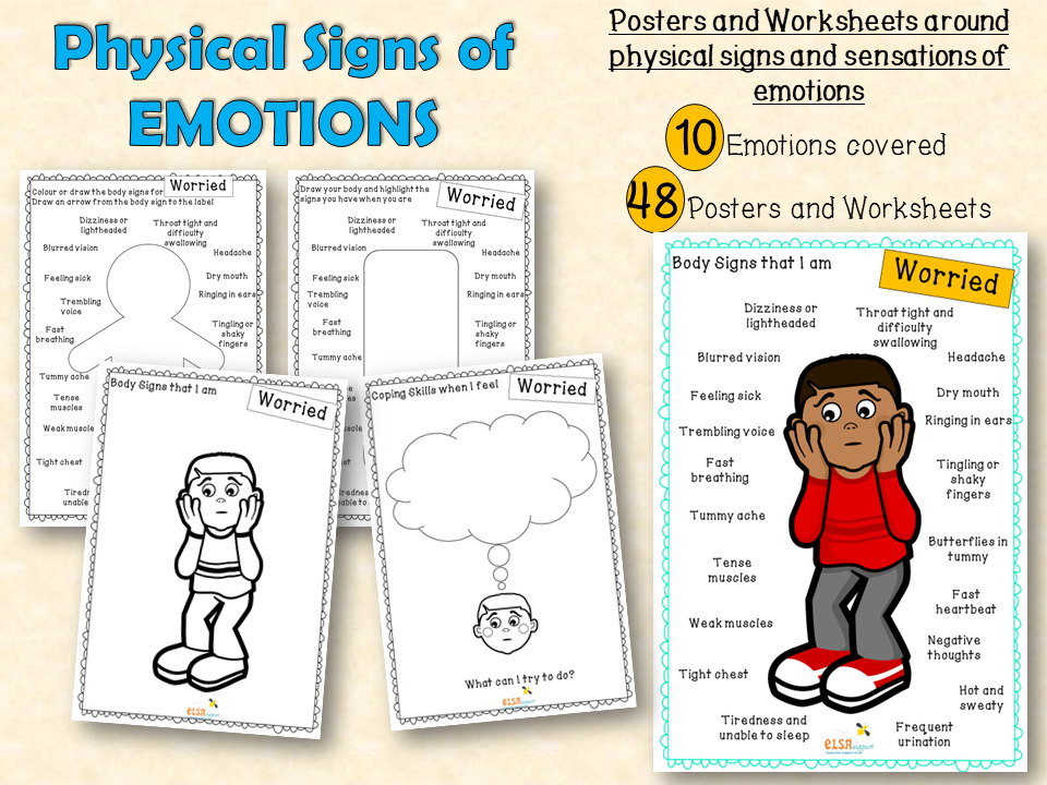 Physical signs of Emotions