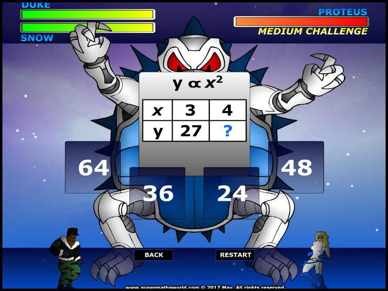 Algebra Challenge - Intermediate
