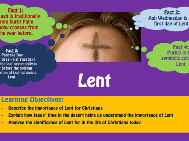 Lent - The importance and significance for Christians