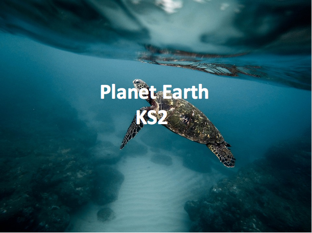 Key Stage 2 Geography - Planet Earth