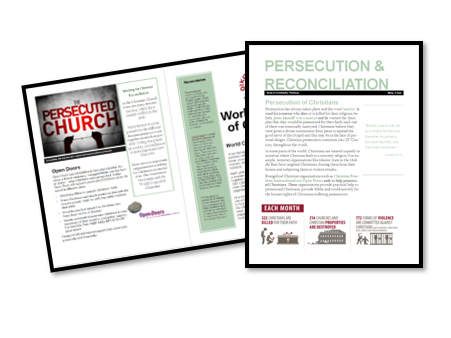 AQA Exam Booklet: Christian Practices: Persecution and Reconciliation