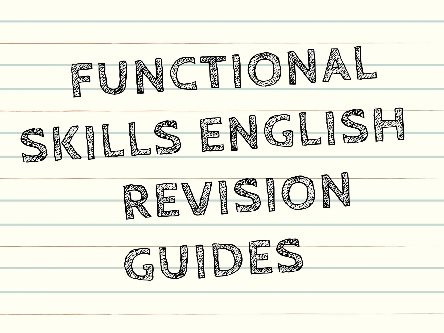 Functional Skills L1 & L2 Revision Guides - Reading and Writing